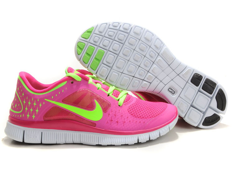 official photos b3a7a 74c27 ... Dame-Nike-Free-Run-3-Lobesko-Pink-Gron