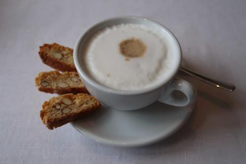 Cantuccini zum Cappuccino
