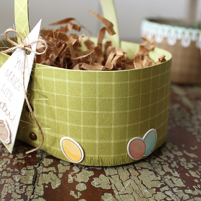You Make Life Sweeter Basket Embellishment
