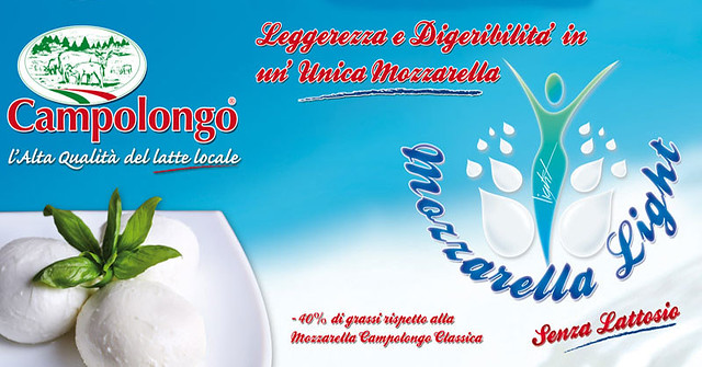 campolongo mozzarella light e senza lattosio