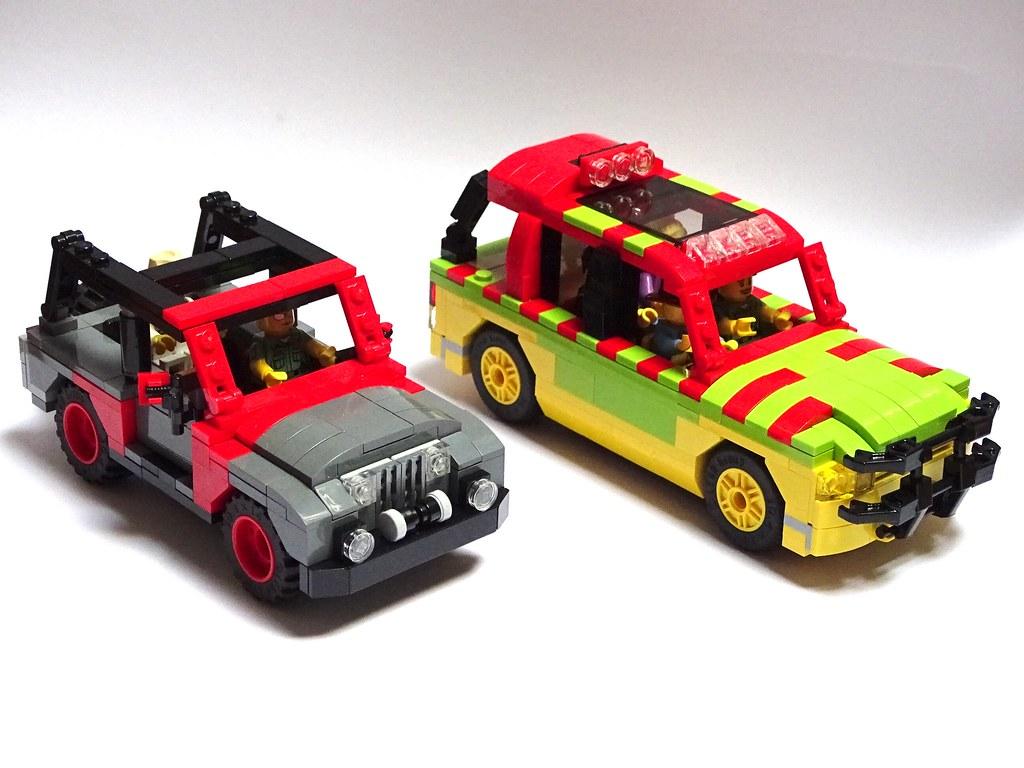 ford explorer jurassic park & jeep wrangler sahara 1992 | flickr