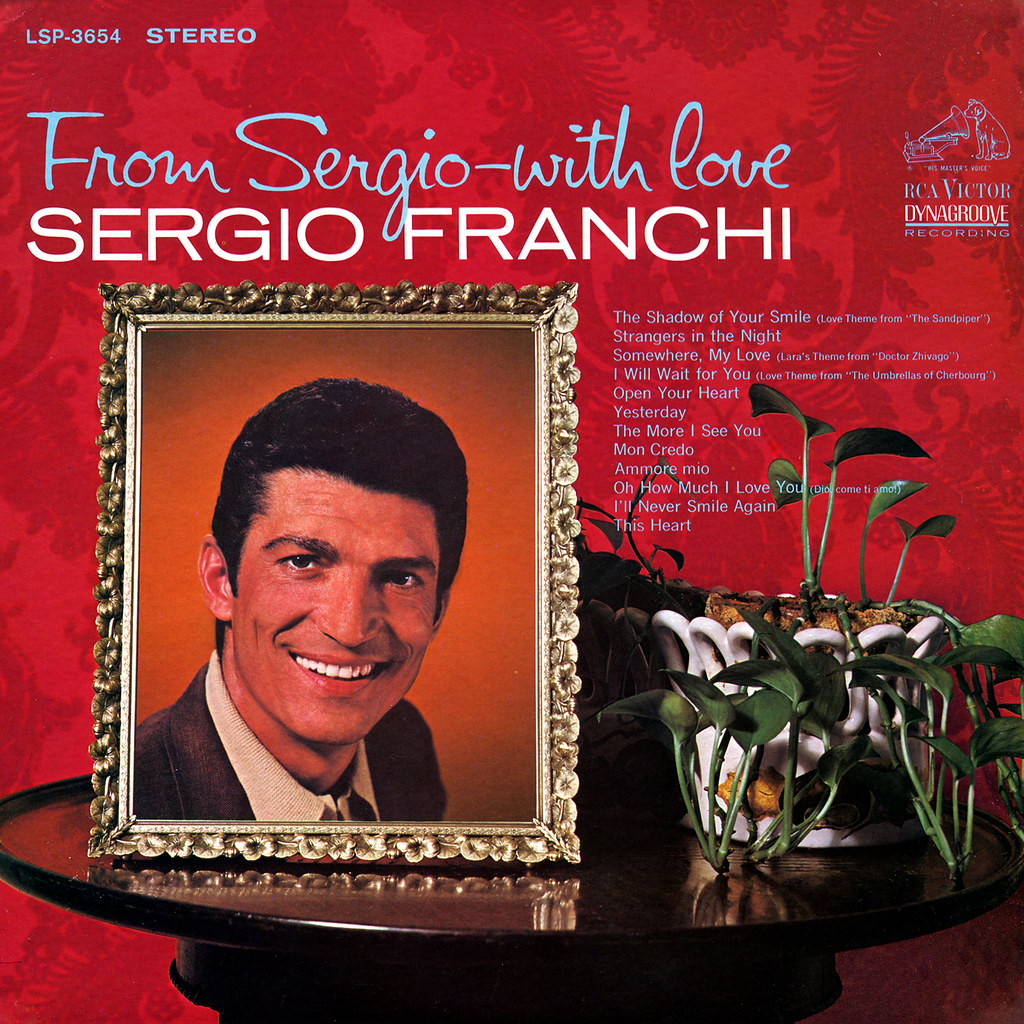 Sergio Franchi - From Sergio - With Love