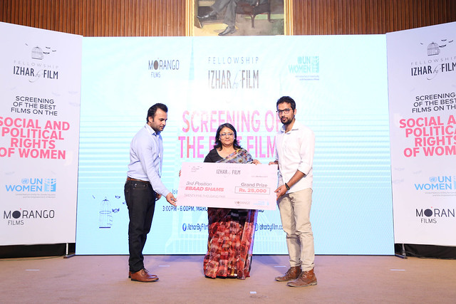 UN Women and Morango Films Screen the top 25 short films on 'Social and Political Rights of Women' under Pakistan's first-ever 'Izhar by Film Fellowship'
