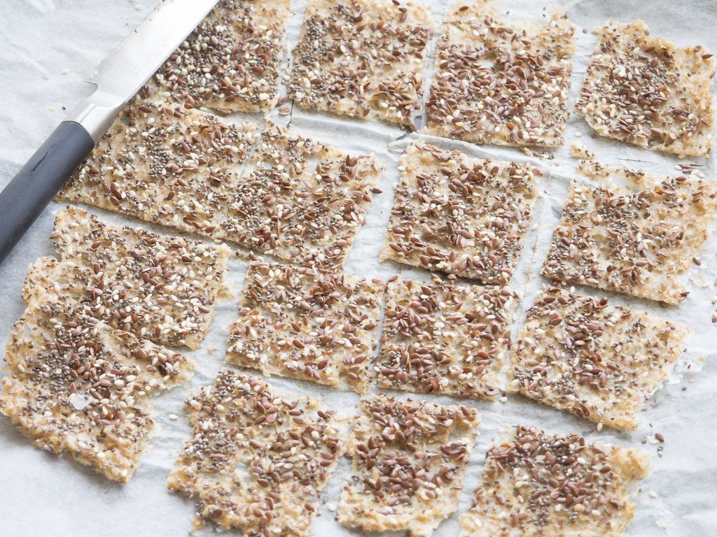 Recipe for Homemade Oat Meal Crackers