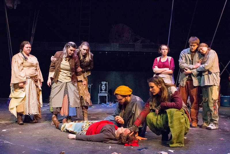 "Dress Rehearsal: ""Mother Courage and Her Children"""