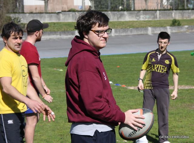 Rugby Inclusivo / Barneratzailea
