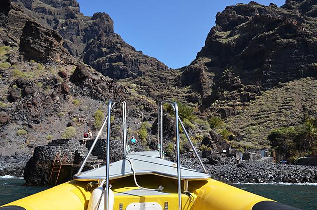 Water taxi, Masca, Tenerife