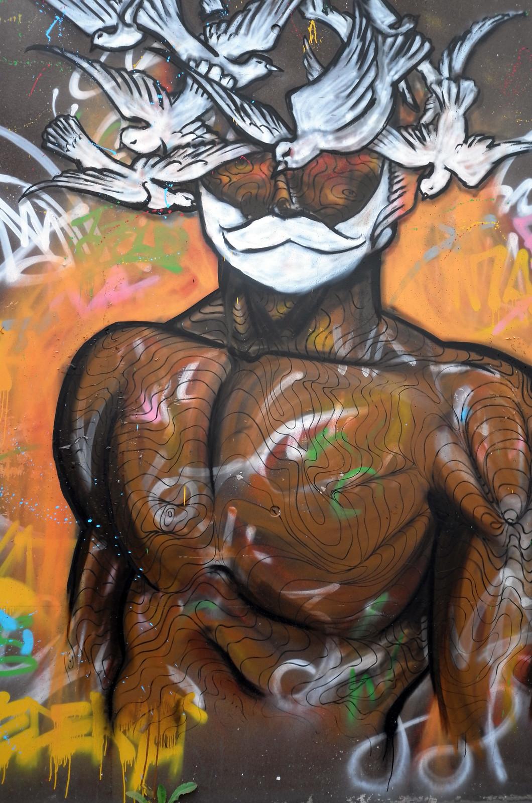Street Art Paris Rive Gauche