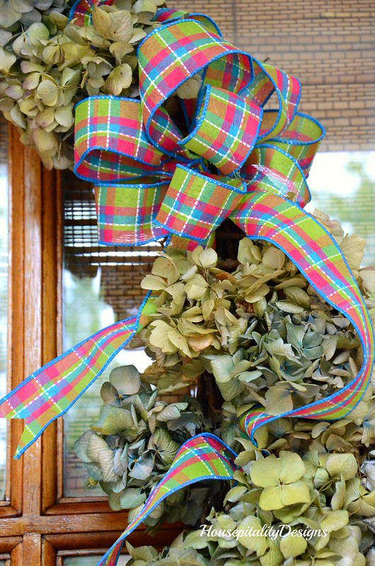 Spring Wreath-Spring Porch 2017-Housepitality Designs