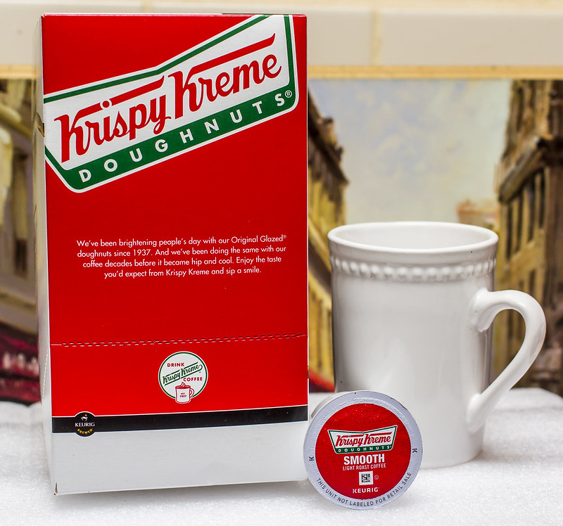 Having Tried The Krispy Kreme Doughnuts Smooth Light Roast Coffee K Cups,  My First Impression Is That This Coffee Would Be Great For Attracting  Beginners To ...