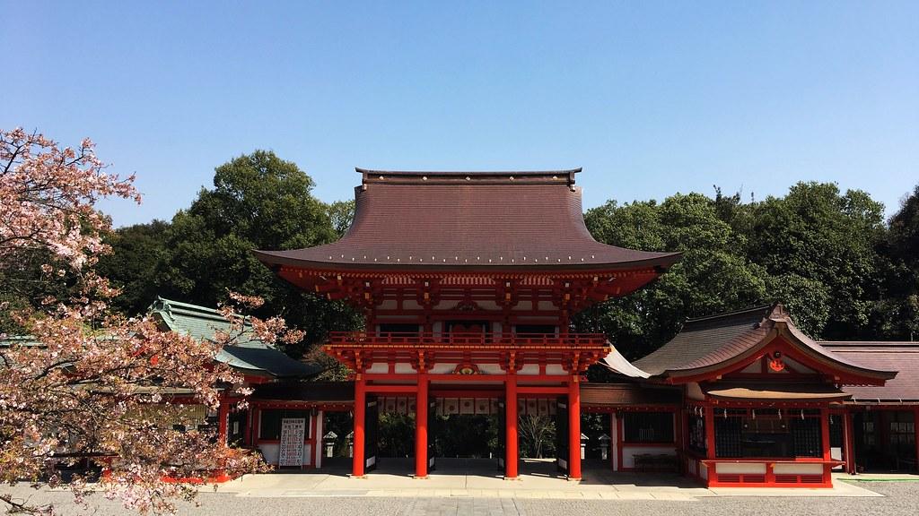 近江神宮:Omi-Jingu (20170413)