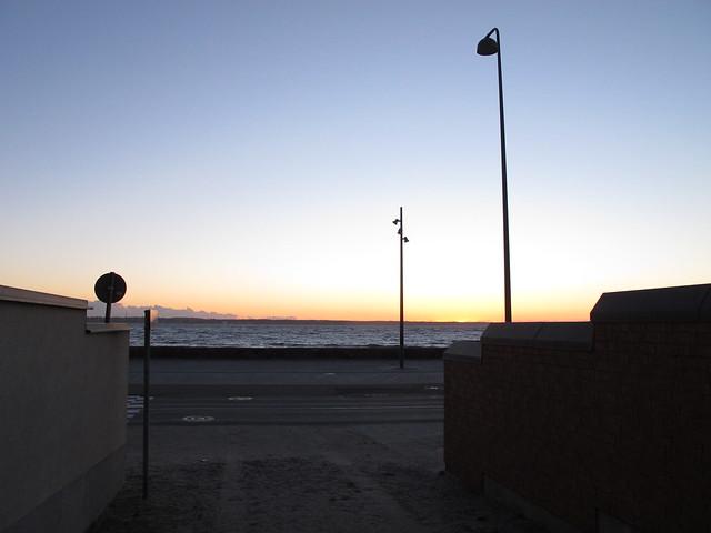 saturday, sunset, helsingborg