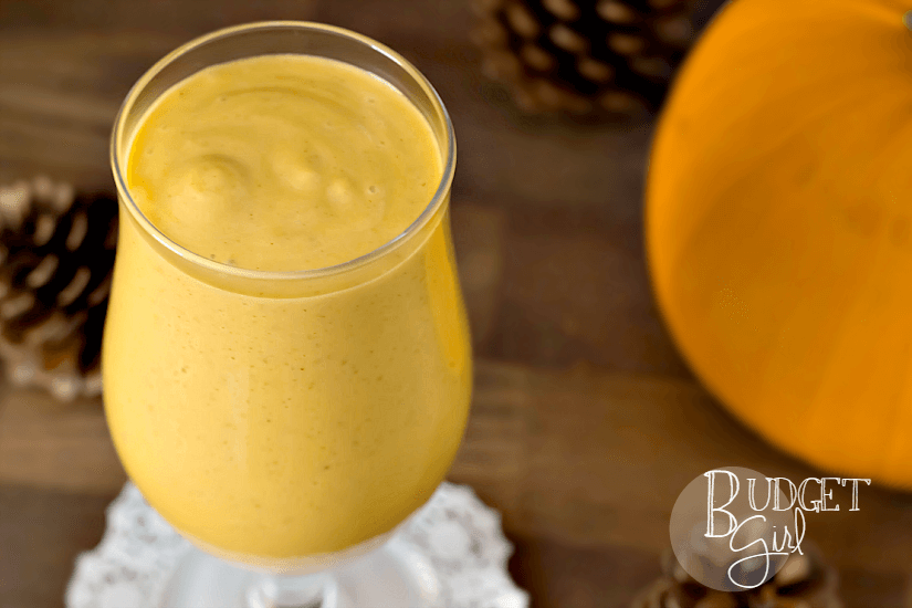 Caramel Pumpkin Smoothies