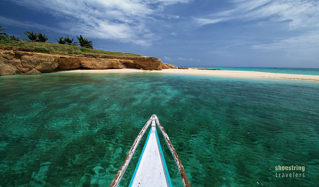 turquoise waters off Tinalisayan Island