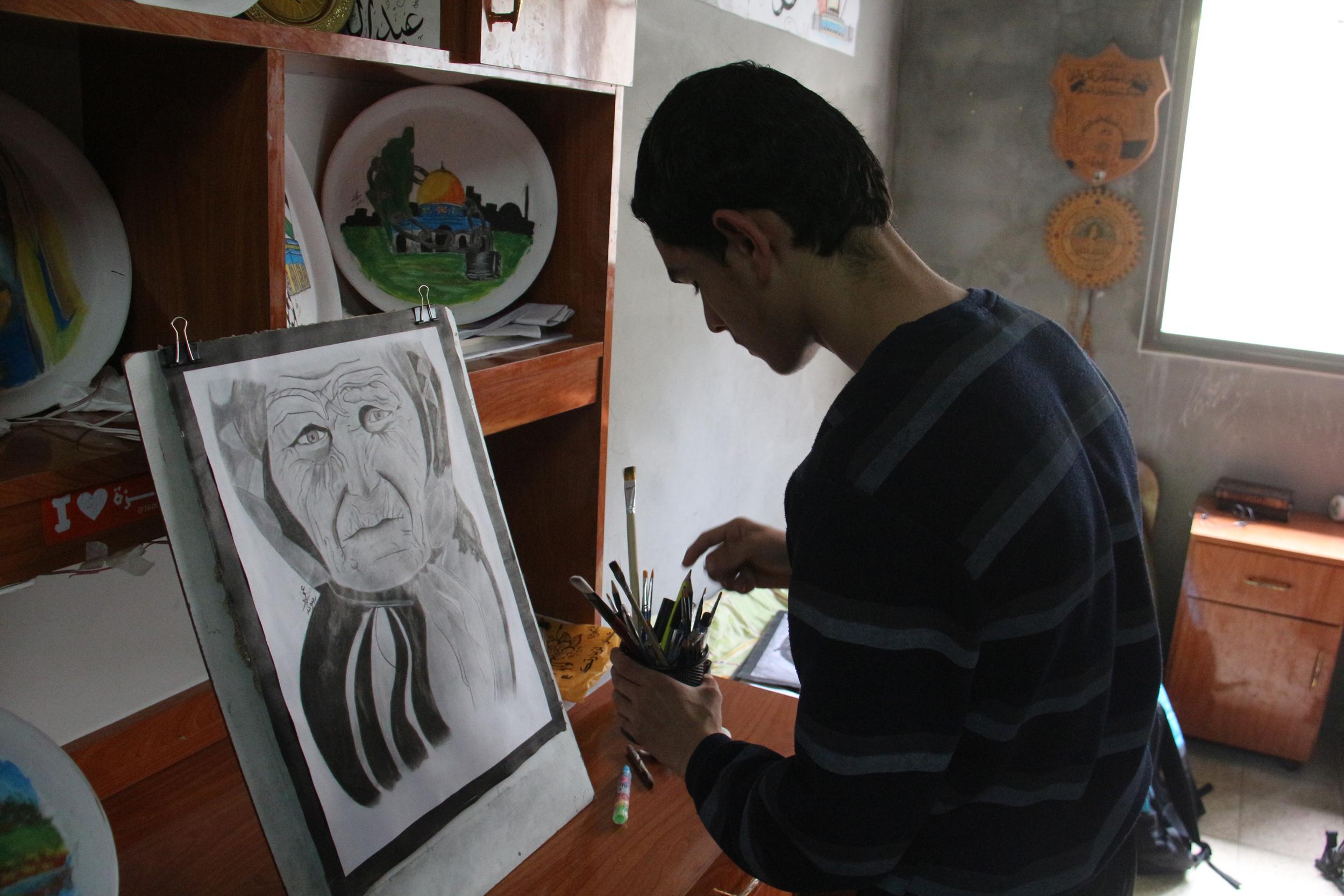 عمر رضوان غزة  (18)