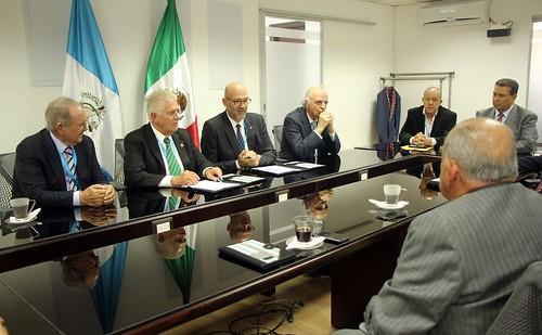 Convenio Comités Olímpicos de Guatemala y México