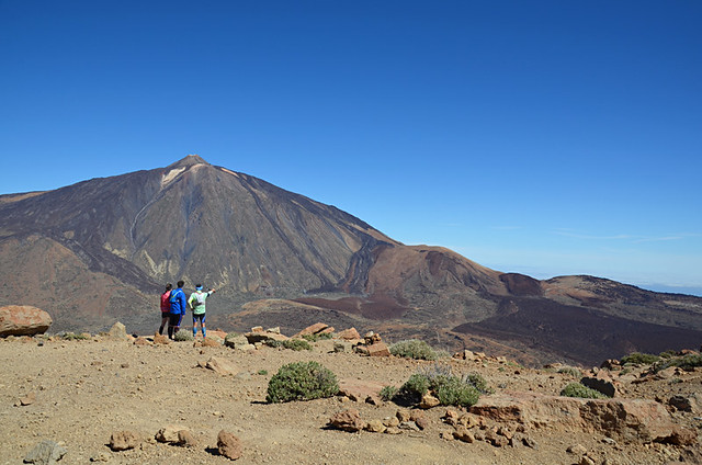 Mount Teide from Guajara, Teide National Park, Tenerife