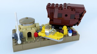 CELEB2015 Tatooine Mini Build by Steven Reid