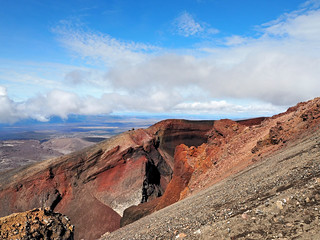 Hiking Tongariro Alpine Crossing, New Zealand | by MintyTG