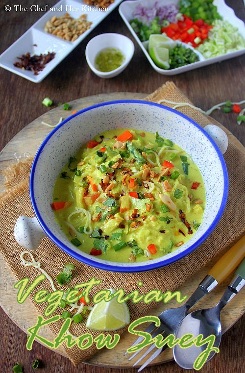 vegetarian khowsuey