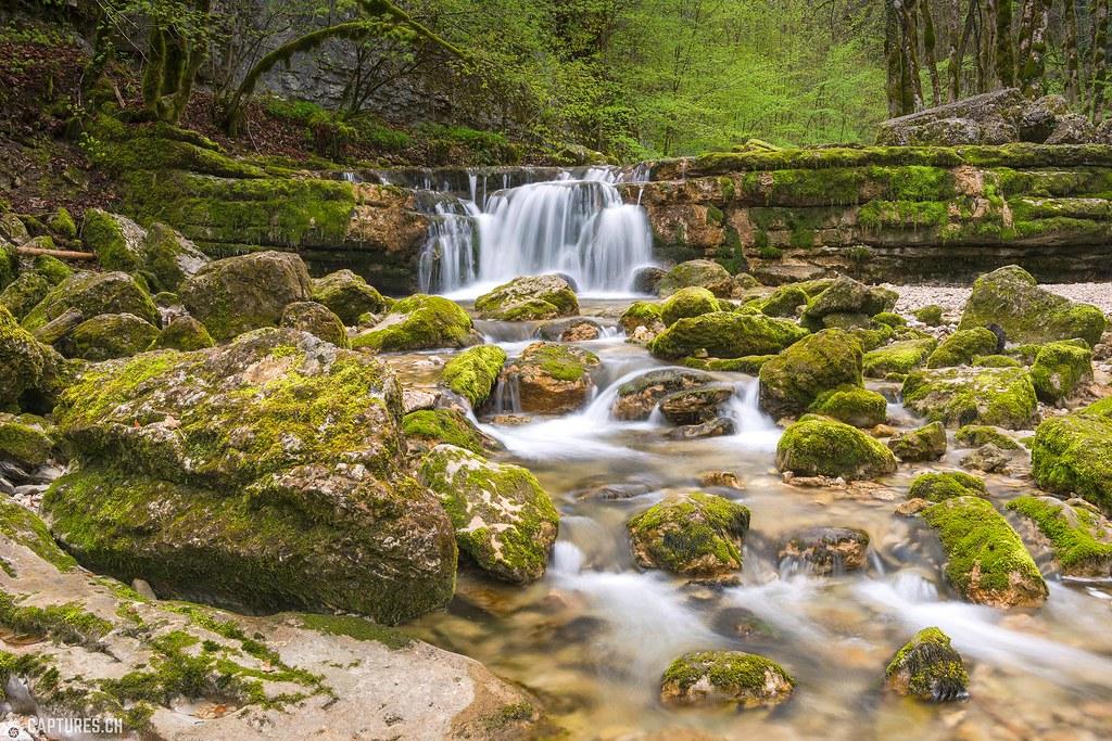 Cascades de Hérisson 1 - France Jura