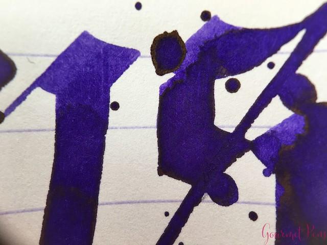 Ink Shot Review Diamine Flowers Iris @AppelboomLaren 7
