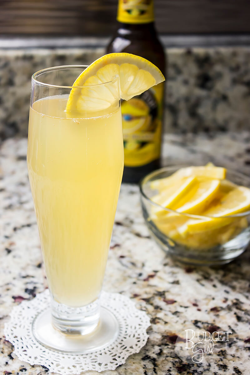 Lemonade Beermosa Beer Cocktail