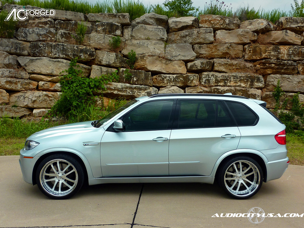22 Quot Ac Forged 312 Brush Face Chrome Lip On 2010 Bmw X5 Flickr