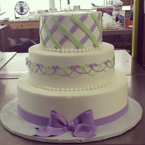 Sweet Lavender And Mint Wedding Cake Jan Lewandowski