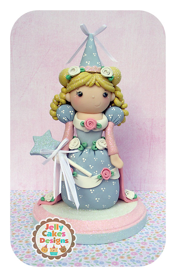 How To Make A Fairy Cake Topper