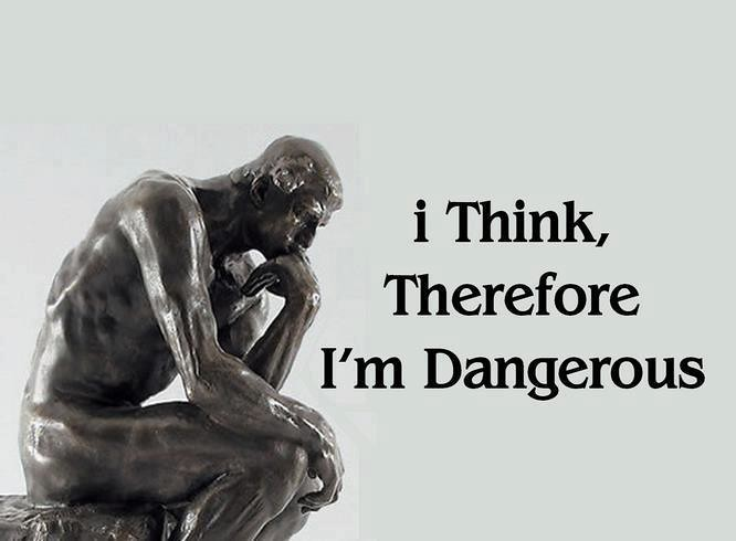 Image result for I think therefore I am, pictures