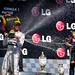Podium - Lewis Hamilton, Kimi Raikkonen & Sebastian Vettel - Hungarian GP 2013