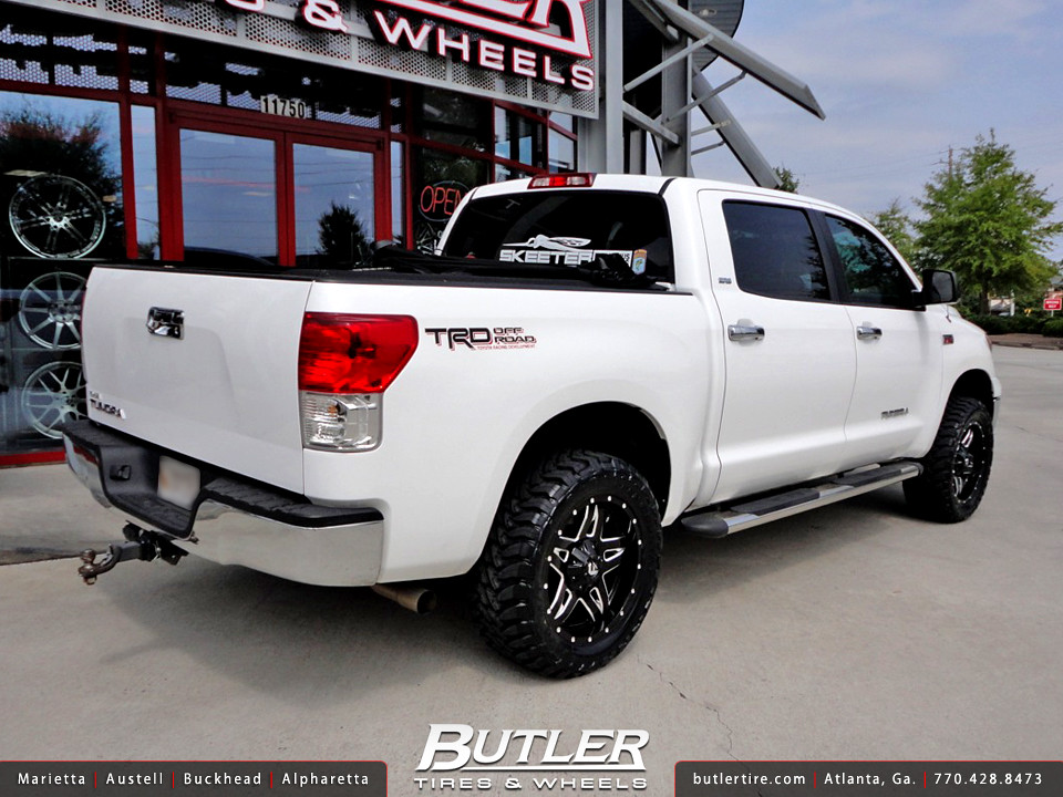 Toyota Tundra Pro >> Toyota Tundra with 20in Fuel Full Blown Wheels | Additional … | Flickr