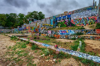 Austin Graffiti Wall | by Jim Nix / Nomadic Pursuits