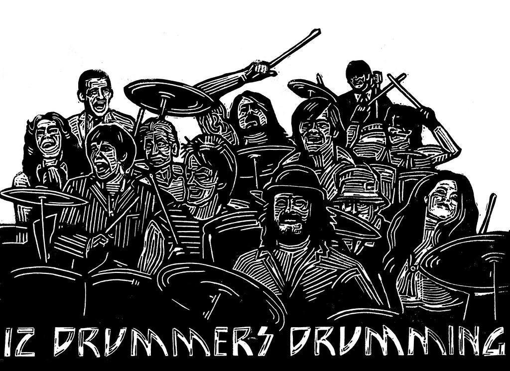 Twelve Drummers Drumming - Twelve Drummers Drumming