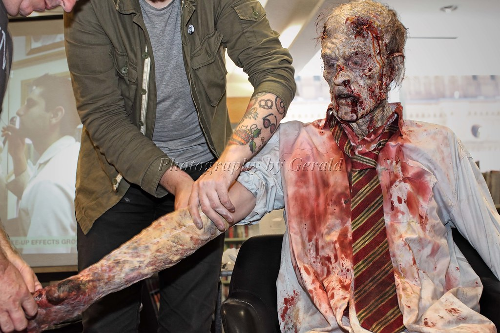 live zombie transformation 8 by make up effects grou flickr