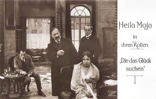 Hella Moja in Die das Glück suchen (1917)