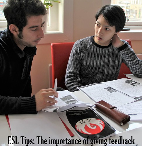 ESL Tips: The importance of giving feedback