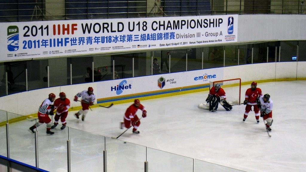 世界青年U18冰球第三級A組錦標賽