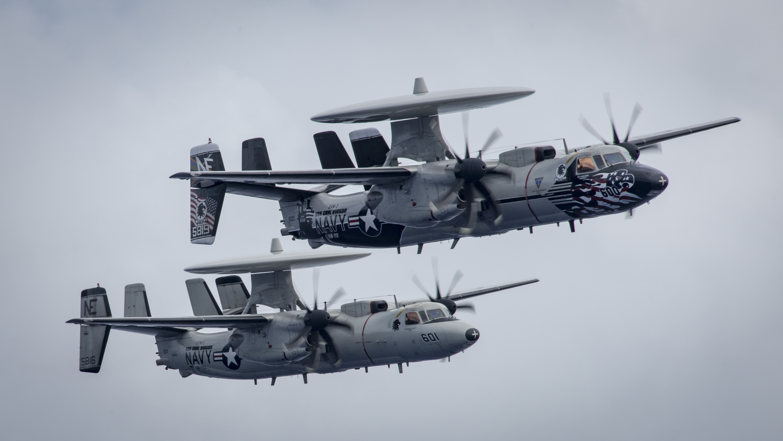 Navy Aircraft : F18 Hornet & Super Hornet - E-2 Hawkeye ... - Page 2 32892773265_546ba14ab8_o