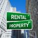 Rental Property Wall Street Sign