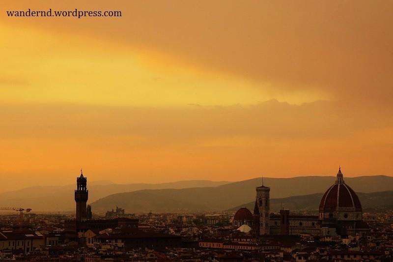 Ausblick auf Dom und Palazzo Vecchio