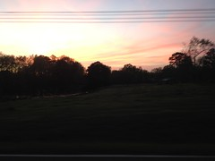 Sunset on Cool Springs Road