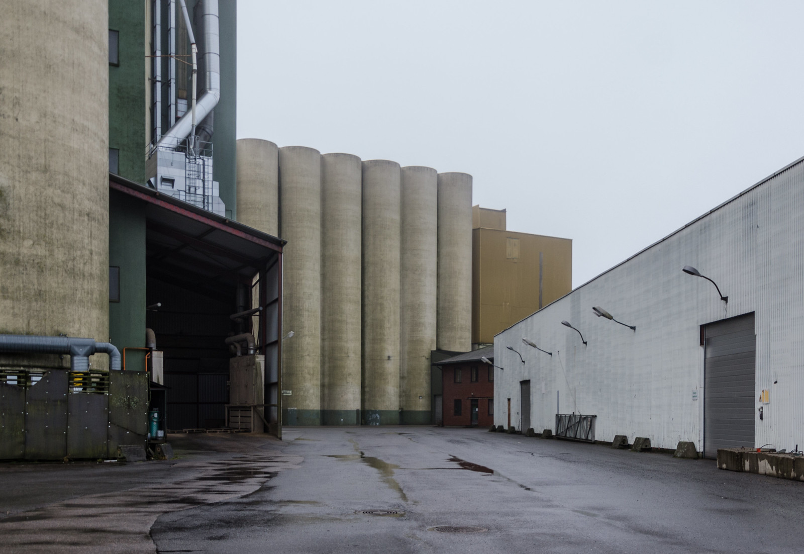 Silos and buildings | by AstridWestvang
