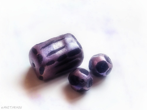Hand-carved beads
