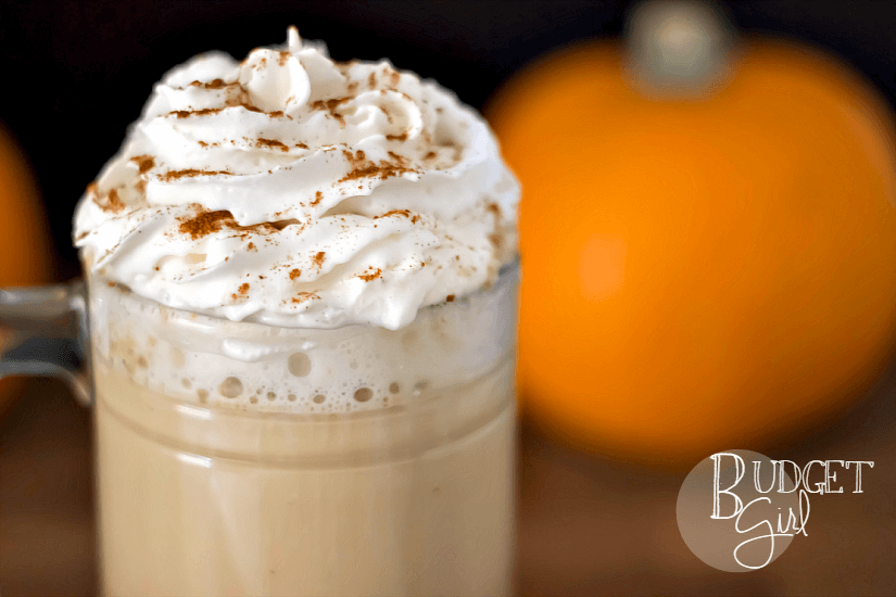 Easy Homemade Pumpkin Spice Lattes