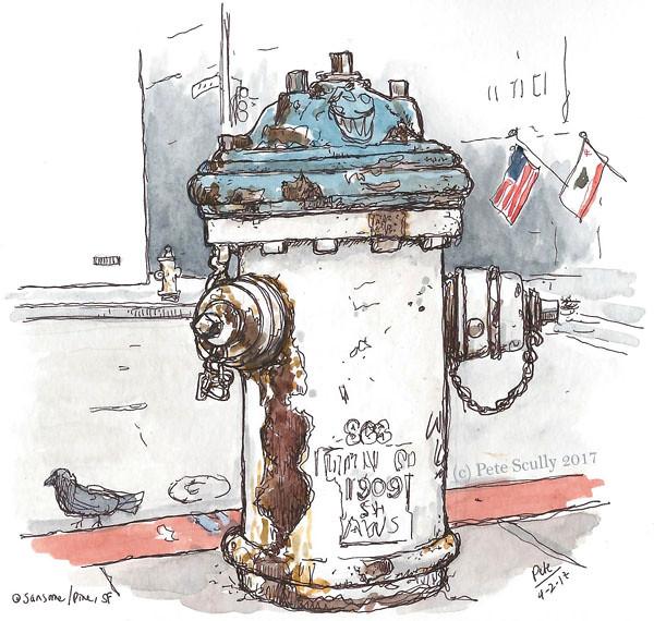 SF hydrant
