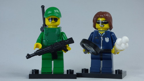 Brick Yourself Bespoke Custom Lego Figure Border Patrol | by BrickManDan