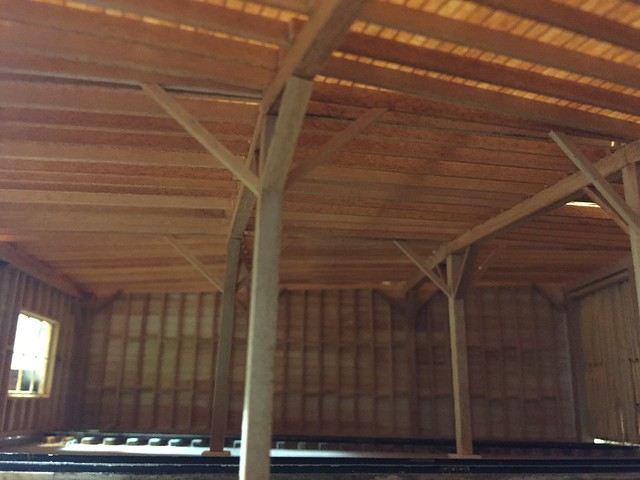Roundhouse roof