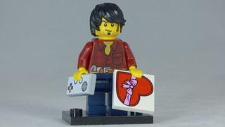 Brick Yourself Custom Lego Figure Romantic Gamer | by BrickManDan